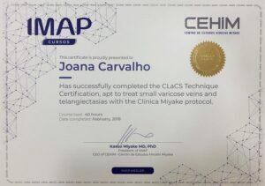 dra-joana-de-carvalho-certificado-clacs-tratamento-varizes-porto